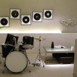 Basement music center