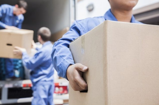 movers unloading a truck 634x422 - How to Find Reliable and Reputable Movers In Singapore