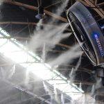 Overhead humidifier