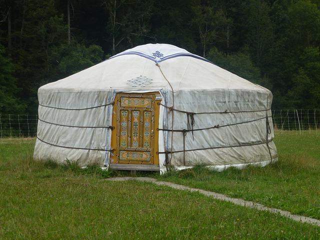 Portable Yurt Shelters : Portable versatile yurts yurt building homeadvisor