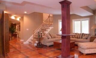 Basement Remodel Flooring
