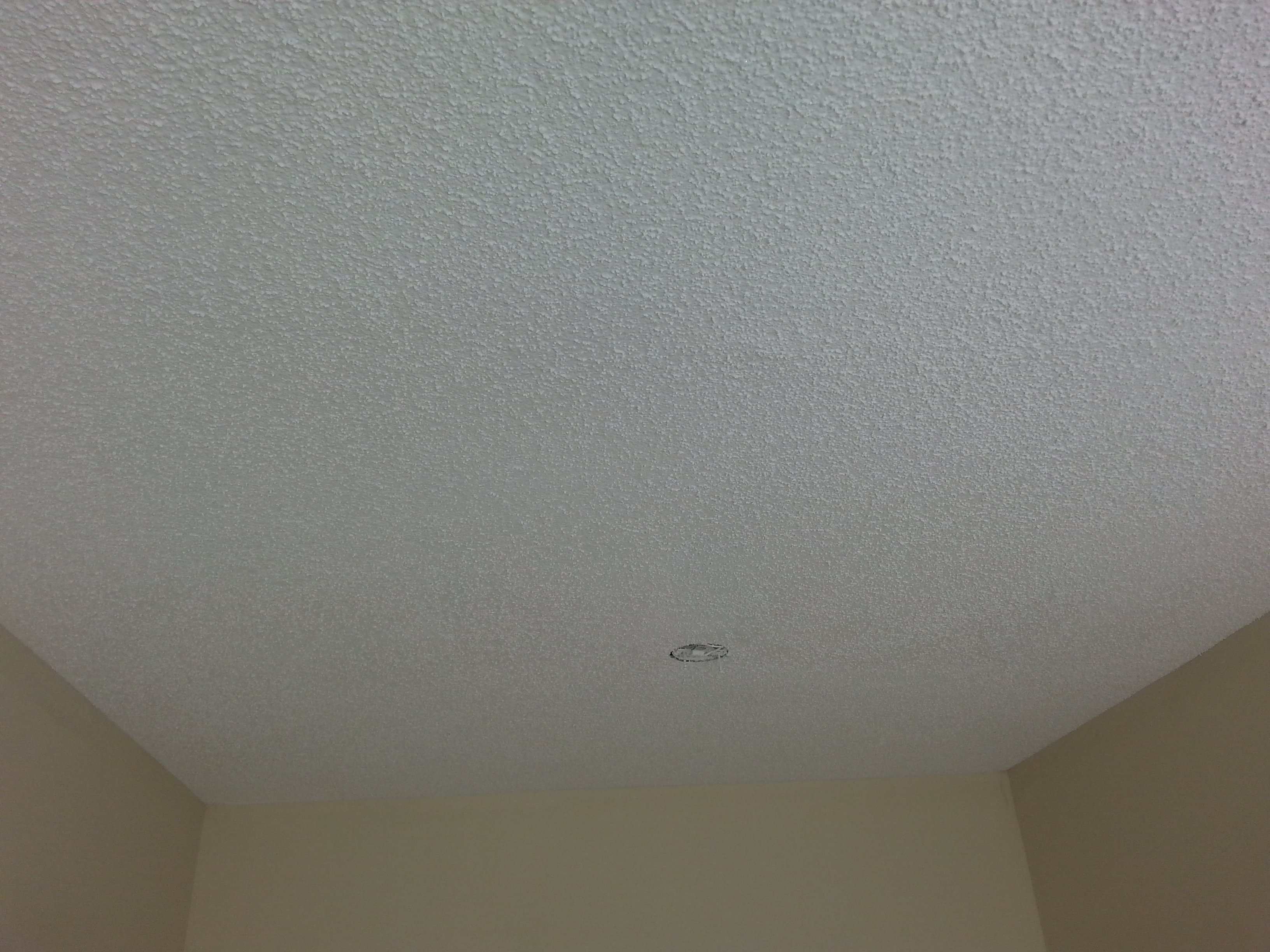 Bathroom ceiling mildew - Ceiling Stains