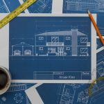 Blueprints for building a home