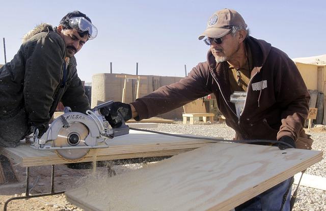 Woodworking contractors