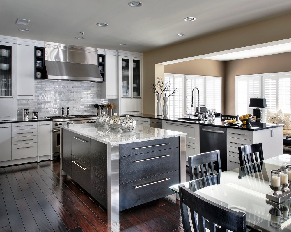 Where your money goes in a kitchen remodel homeadvisor for Custom kitchen remodel