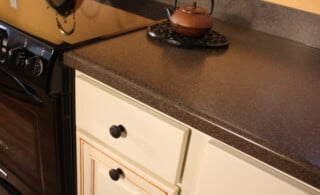 Laminate Counters are still a good option in the kitchen and bath