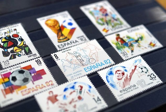 Stamp Collecting At Home