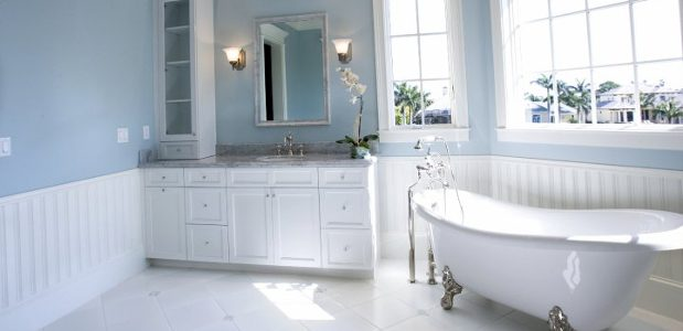 Bathroom With Clawfoot Bathtub