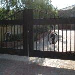 Metal Driveway Gate