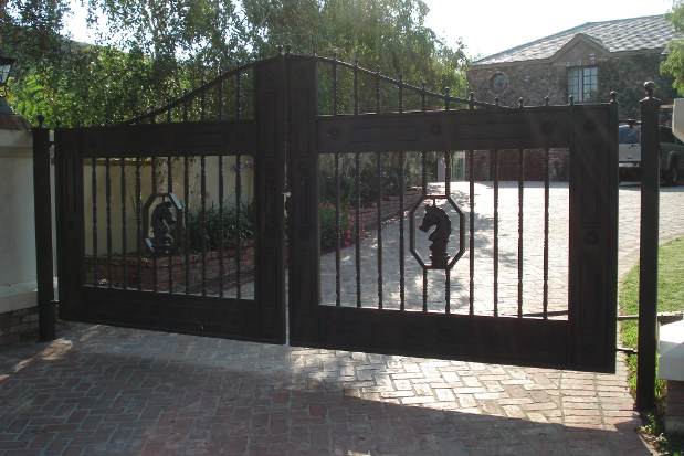 Wood And Metal Gates Material Options Weight General