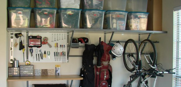 Organized Garage Organizing