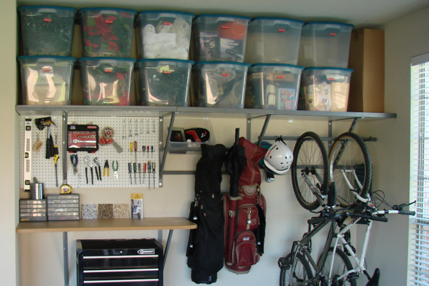 area new mount organized storage kisco ny york garage photo contemporary