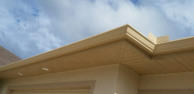 Pvc gutters a plastic replacement installation repair pvc gutters also called vinyl gutters are an interesting alternative to traditional guttering systems though you may not see them on a lot of houses solutioingenieria Image collections