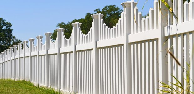 Privacy Fence Design Choosing a fence design design options material advantages white privacy fence workwithnaturefo