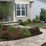Front Yard With Ornamental Tree