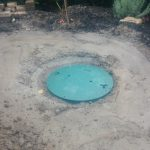 Underground septic tank