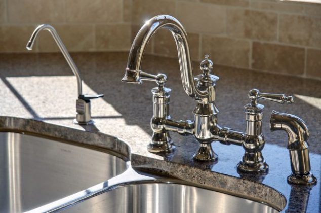 Brizo 63144LF SS at J & J Wholesale Retractable Faucets Kitchen jjplumbingnc.com Brizo 63144LF SS Stainless Retractable Faucet.HTM