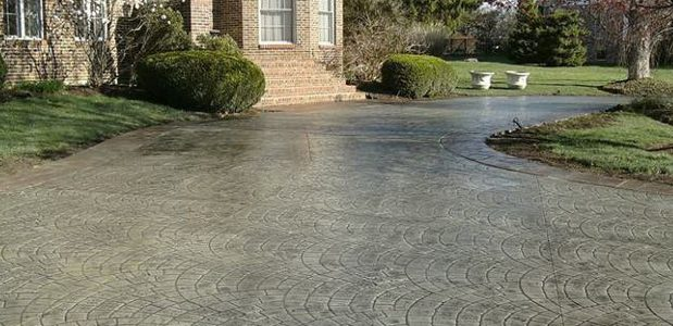 Concrete Flatwork with a Decorative Finish