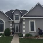 Stucco Concrete Siding House