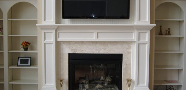 Remodeling a Fireplace Surround