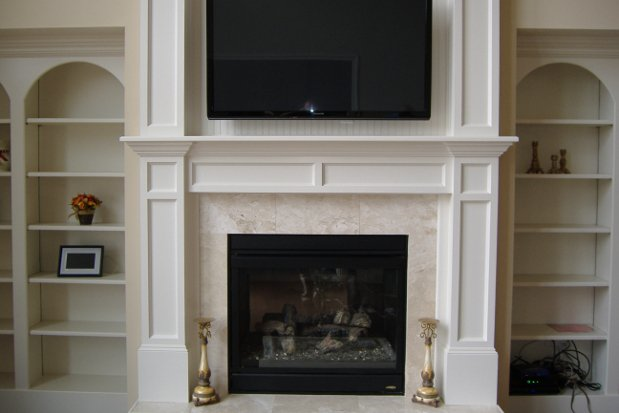 A remodel is great to revamp your old fireplace that is serving you well functionally