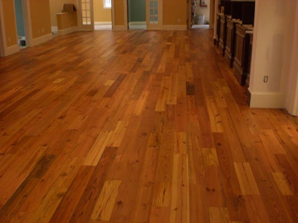 Hardwood Floor In Kitchen Or Tile