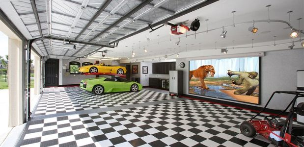 Garage Floor Covering Durability Benefits Paint Tile Epoxy
