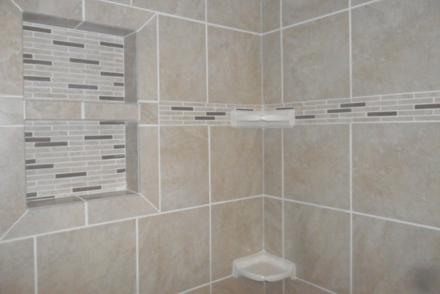 Cool Stone Tile A Simple White Ceaserstone Counter Top Neutral Bathroom