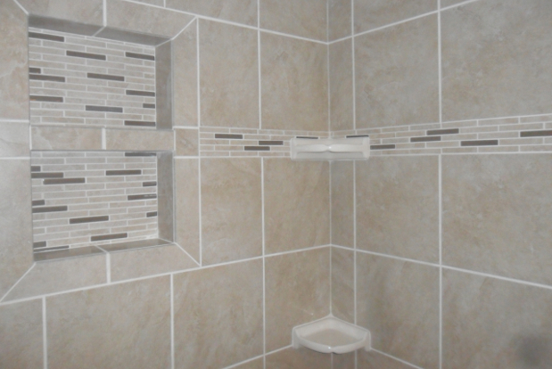 Superieur Neutral Colored Tile In A Bathroom Shower