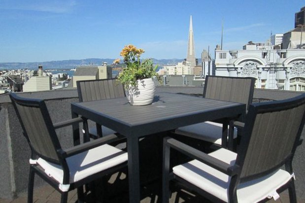 Building a rooftop deck roof deck considerations - Houses garage deck rooftop party ...