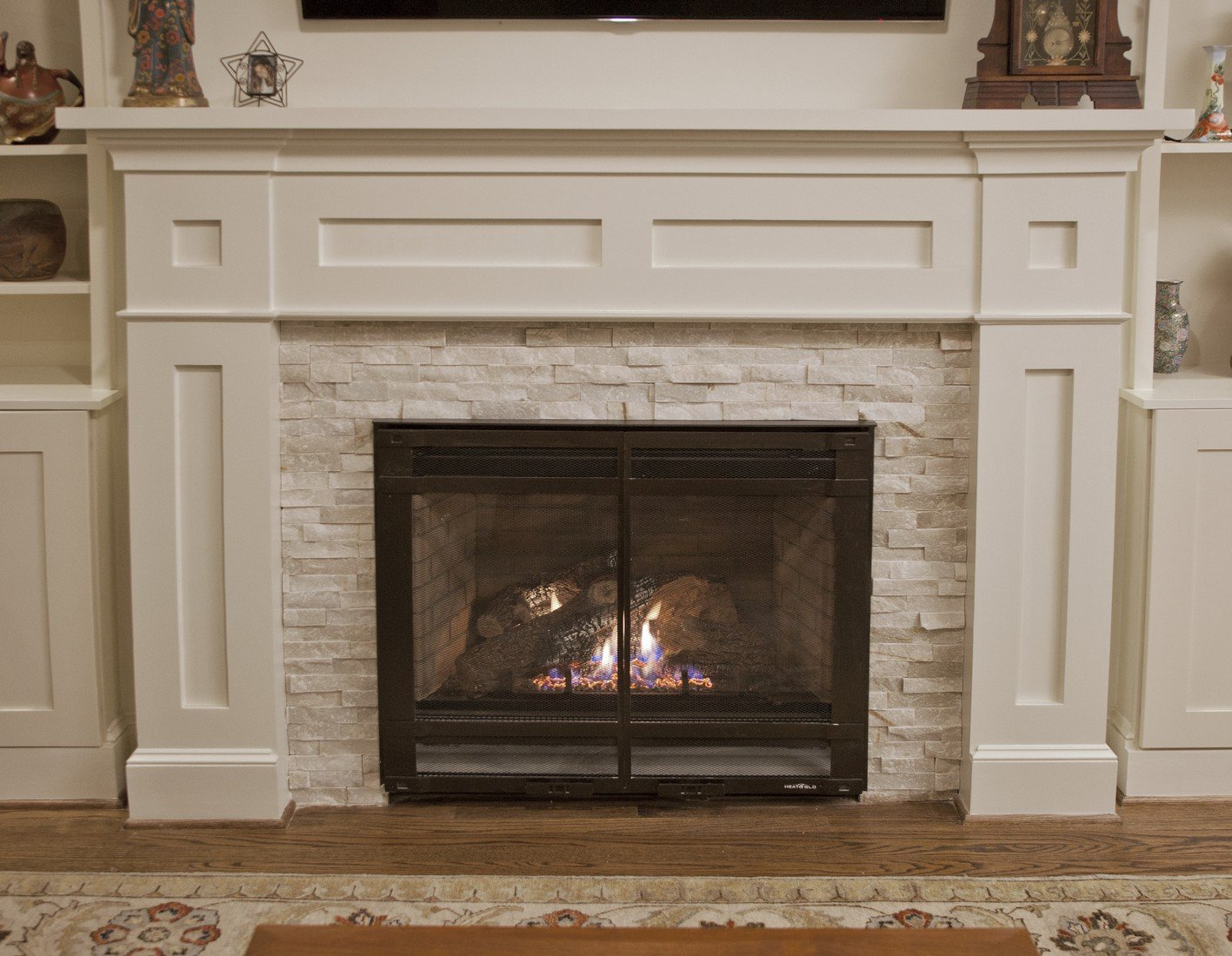 mantel digital with fireplace and decors camera olympus ideas gas kits corner kit designs fireplaces
