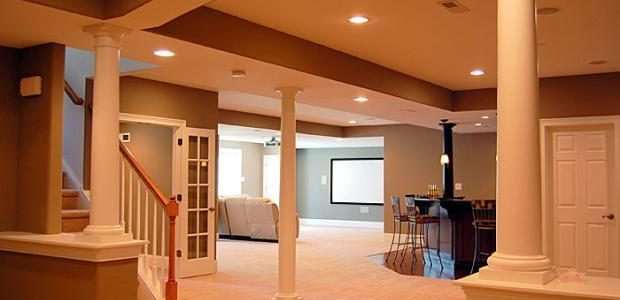Considerations Costs For A Basement Remodel HomeAdvisor Fascinating Denver Basement Remodel Exterior Collection