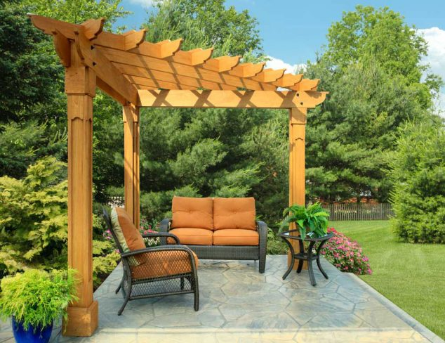 Pergola - Building A Pergola, Arbor Or Trellis - Costs & Considerations