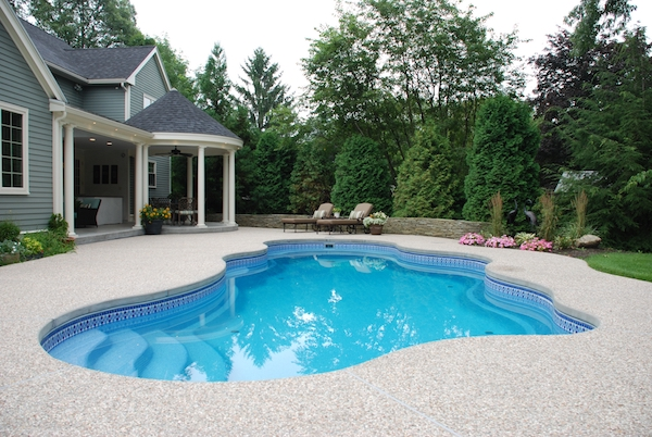 Fiberglass pools pros cons costs for In ground pool companies