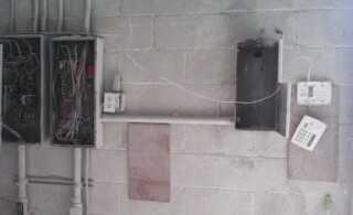 Electrical Boxes & Fire Hazards