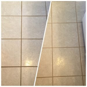 Grout Repair Before After