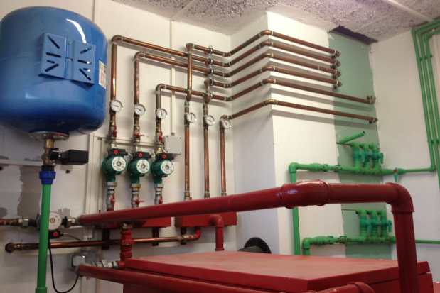 About hydronic heating and cooling House heating systems