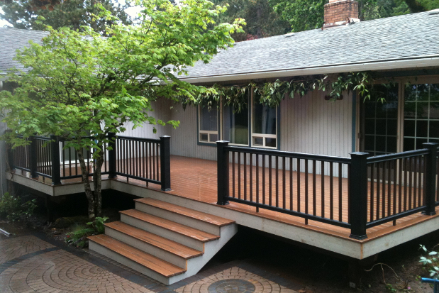 Green decks green patios green porches tips cost value for Porches prices