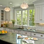 White cabinets and counters