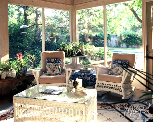 The Appeal Of Outdoor Wicker Furniture