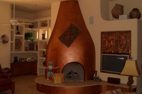 Kiva Fireplace Southwestern Design Types Cost