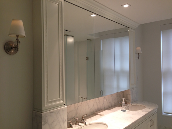 recessed medicine cabinet with mirror white cabinets mirrors glass and lights