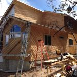 Home addition construction
