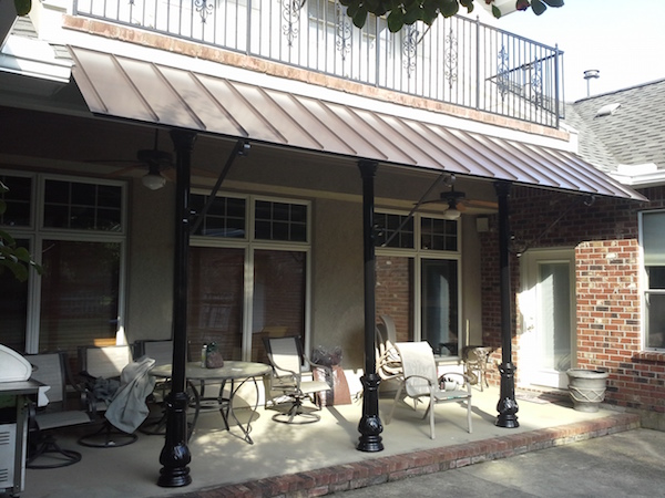 aluminum awning metal awning benefits cost installation
