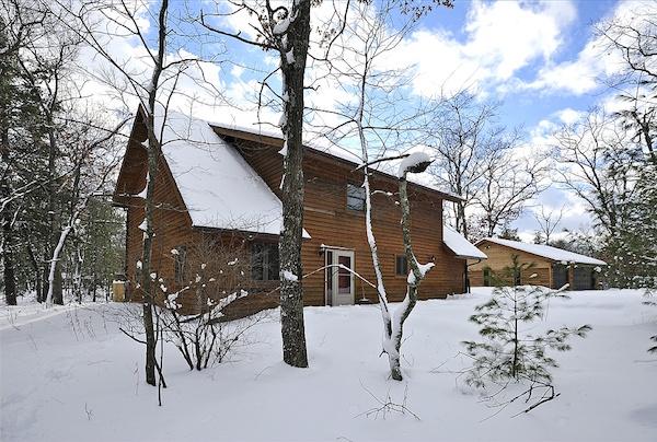 Winter yard