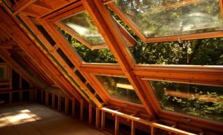 Wooden skylights