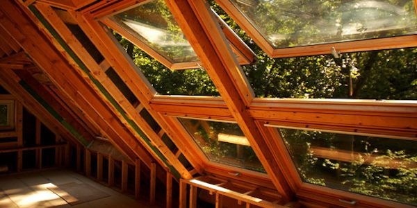 Wooden skylights