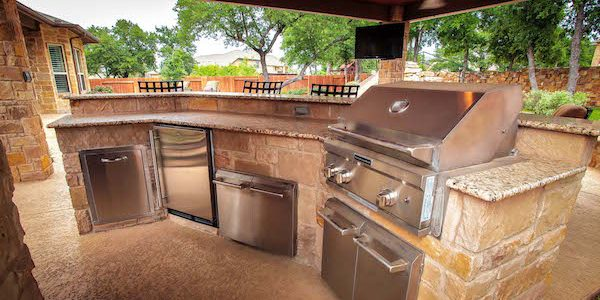 Wondrous Outdoor Kitchens Outdoor Kitchen Design Custom Kitchens Interior Design Ideas Ghosoteloinfo