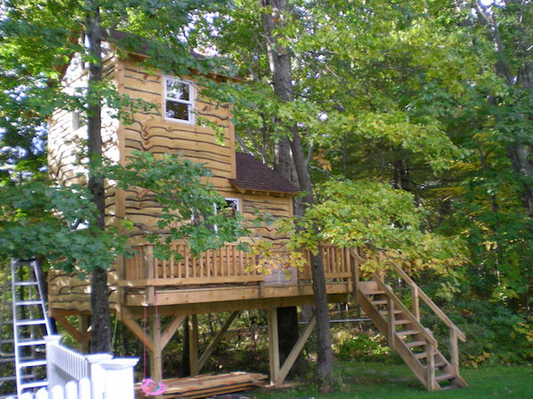 Kid Tree House Ideas Safety Tips For Building A Tree