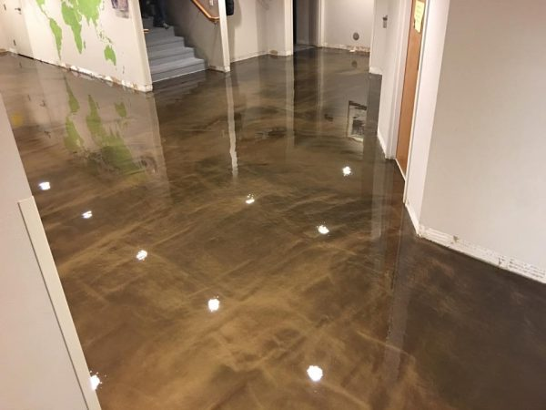 Concrete As Flooring : Concrete flooring installation finishes ideas